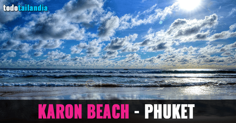 playa karon phuket tailandia