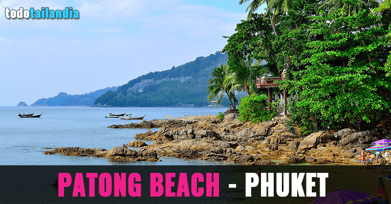 playa patong phuket tailandia