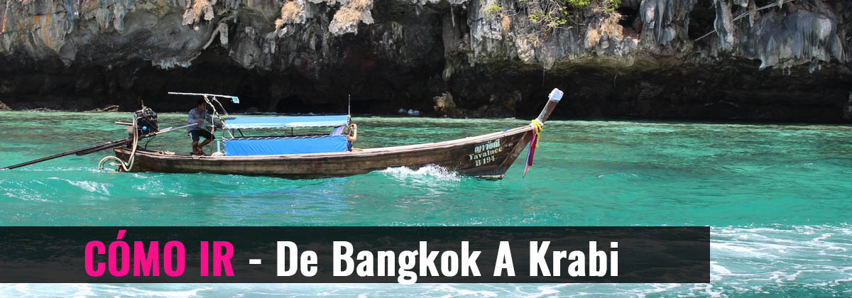 Cómo ir- De Bangkok a Krabi