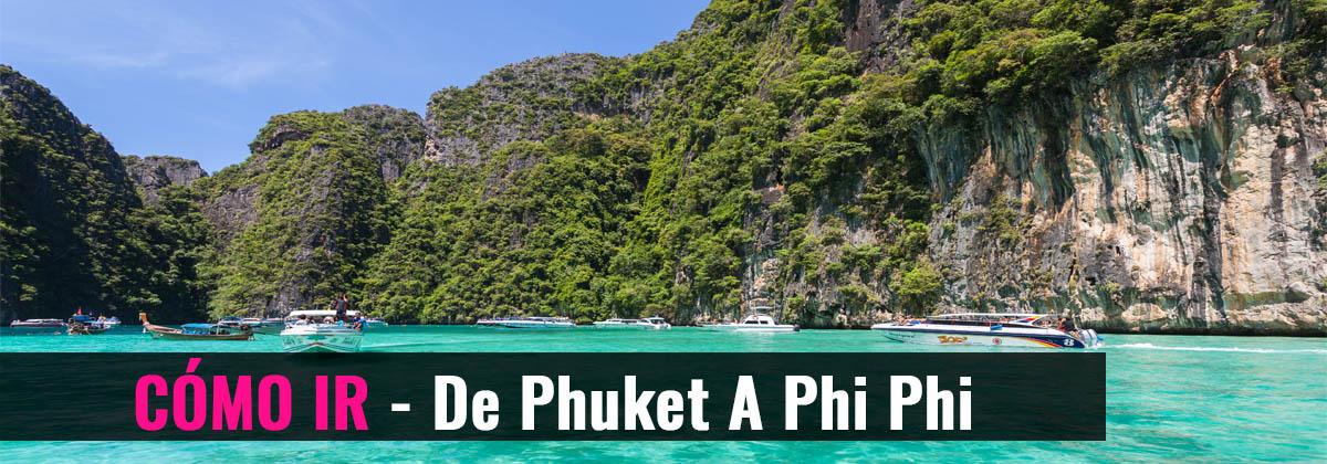 Cómo ir de Phuket a Phi Phi