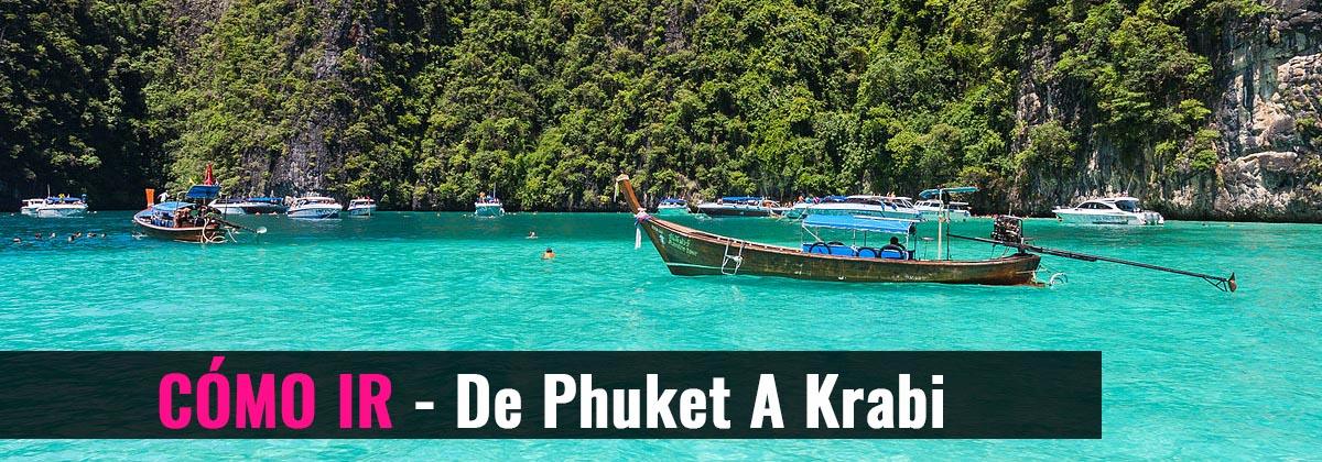 Cómo ir - De Phuket a Krabi