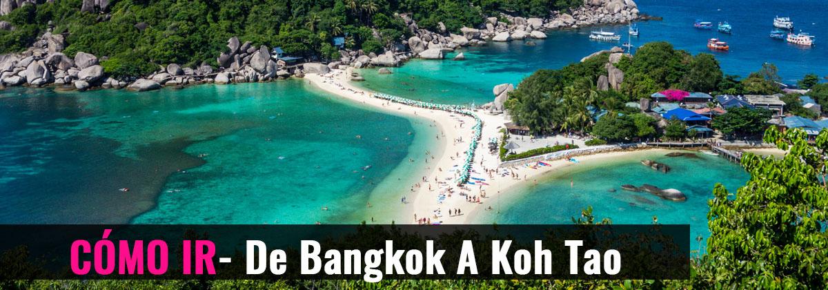 Cómo ir- De Bangkok a Koh Tao