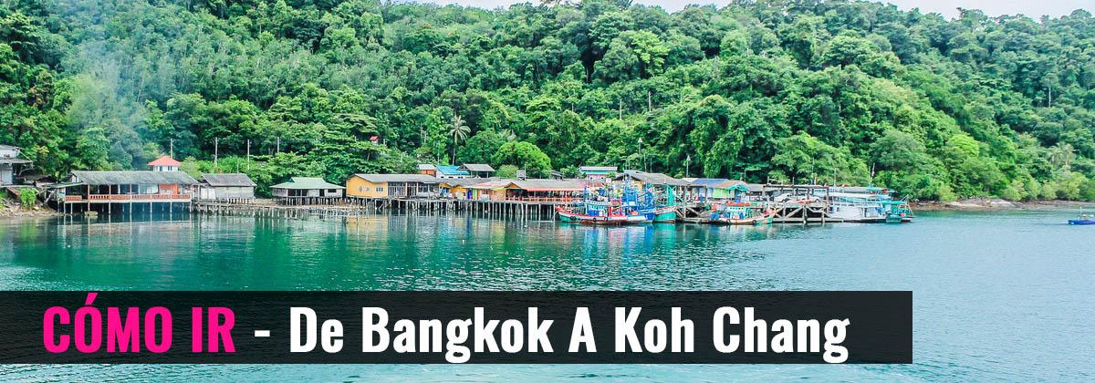 Cómo ir - De Bangkok a Koh Chang