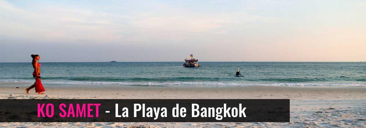 Ko Samet - La Playa de Bangkok