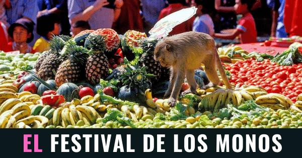 Festival de los Monos en Lopburi