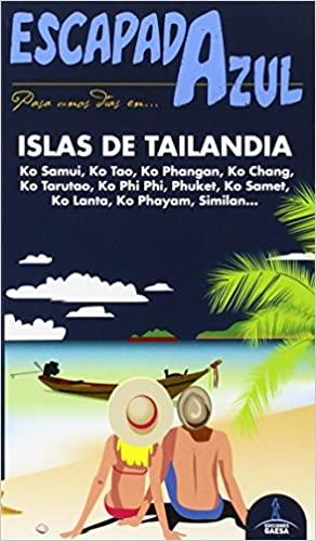Mapa islas de Tailandia